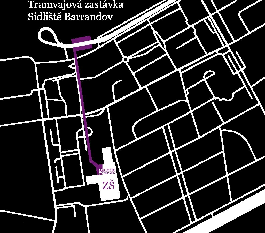 Mapa jak se k nám dostanete