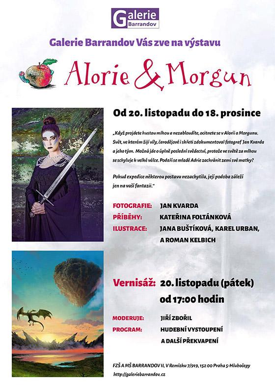 Jan Kvarda: Alorie a Morgun – Podivuhodné světy