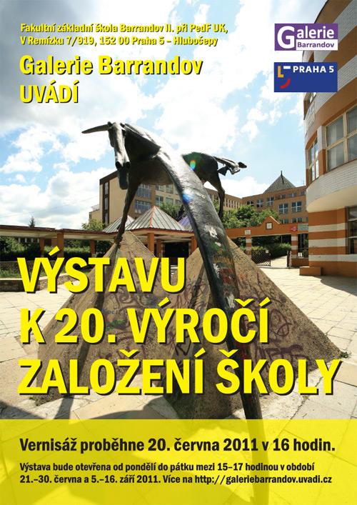 FZŠ Barrandov II: Výstava k 20. výročí založení školy