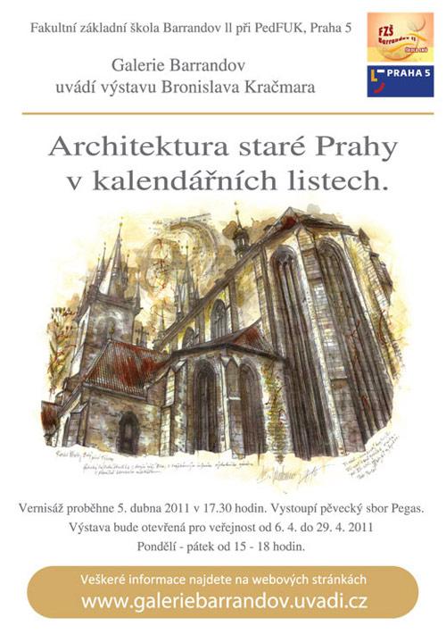 Bronislav Kračmar: Architektura staré Prahy v kalendářních listech