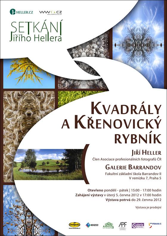 Jiří Heller: Kvadrály a Křenovický rybník