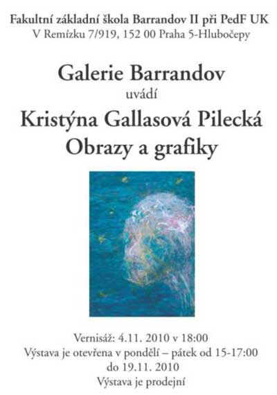 Kristýna Gallasová Pilecká: Obrazy