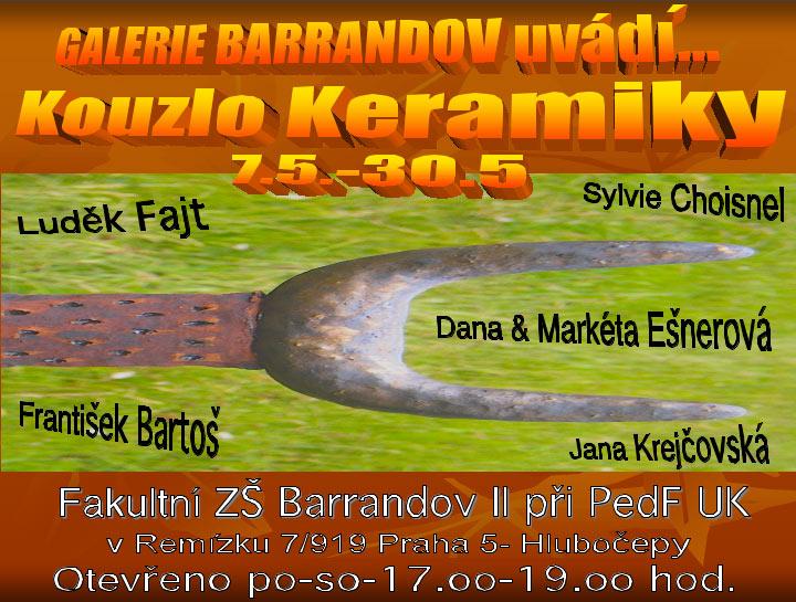 Markéta Ešnerová, Luděk Fajt, František Bartoš, Sylvie Choisnel: Kouzlo keramiky