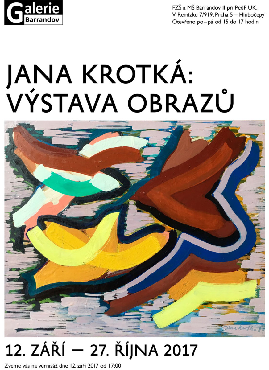 Jana Krotká: Výstava obrazů