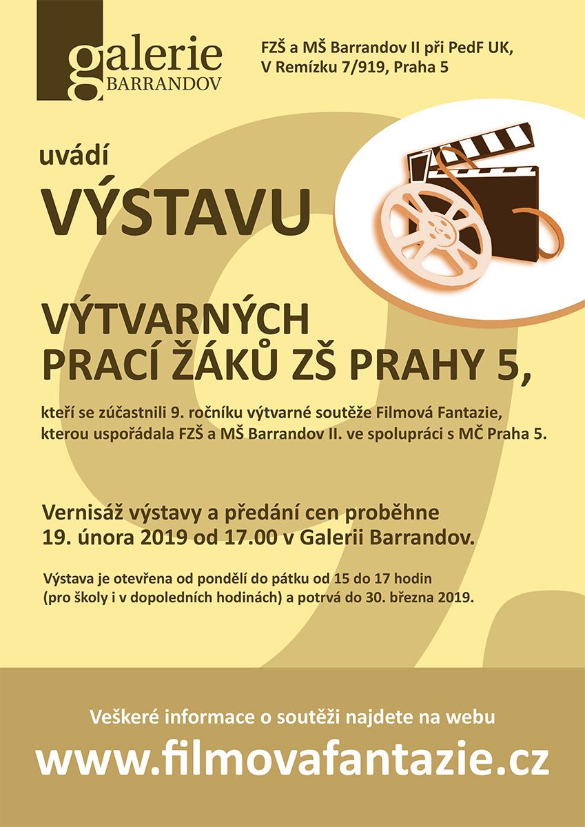 Filmová Fantazie: Výtvarné práce žáků ZŠ Prahy 5
