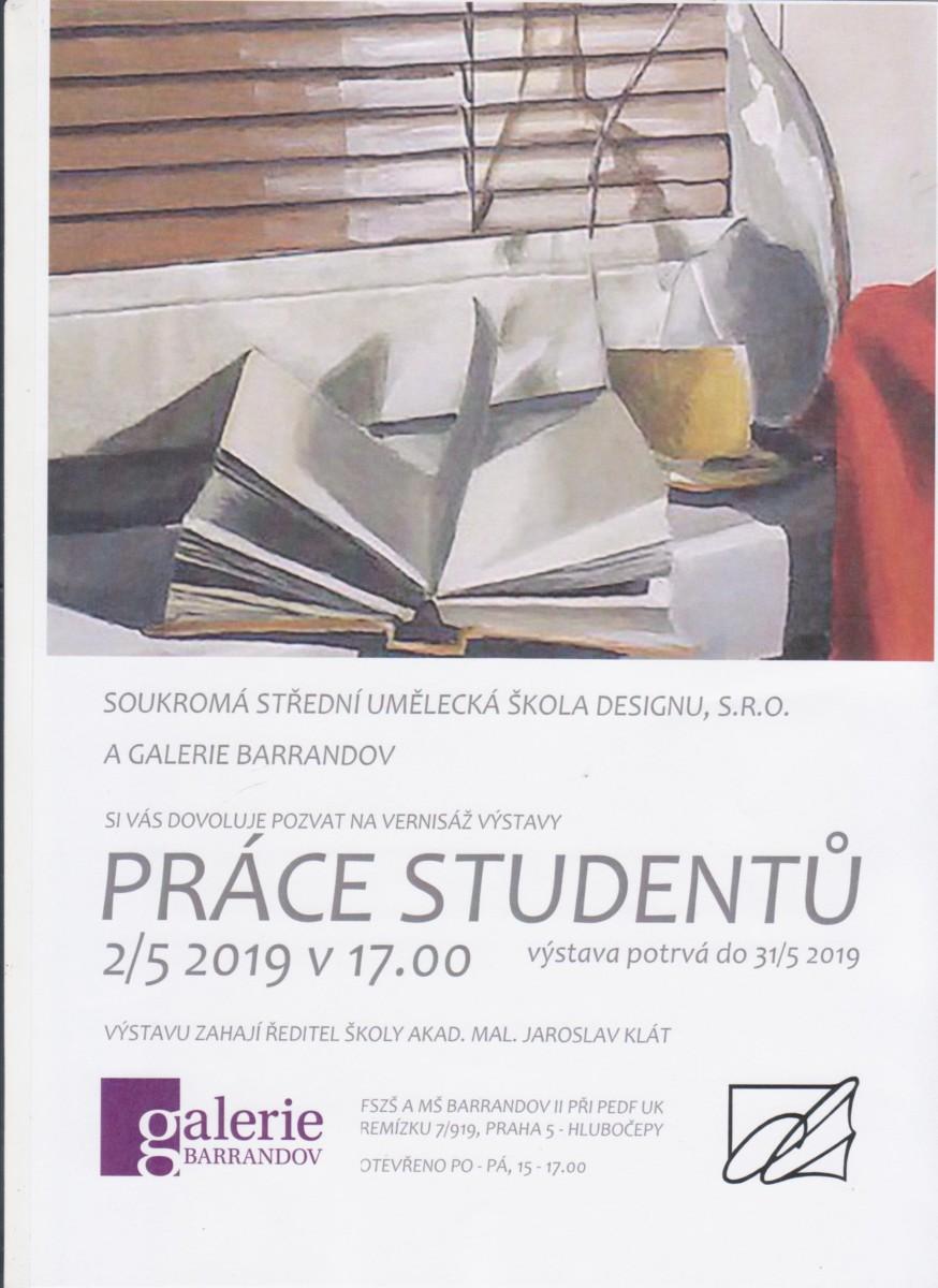 Soukromá střední umělecká škola designu, s.r.o.: Práce studentů
