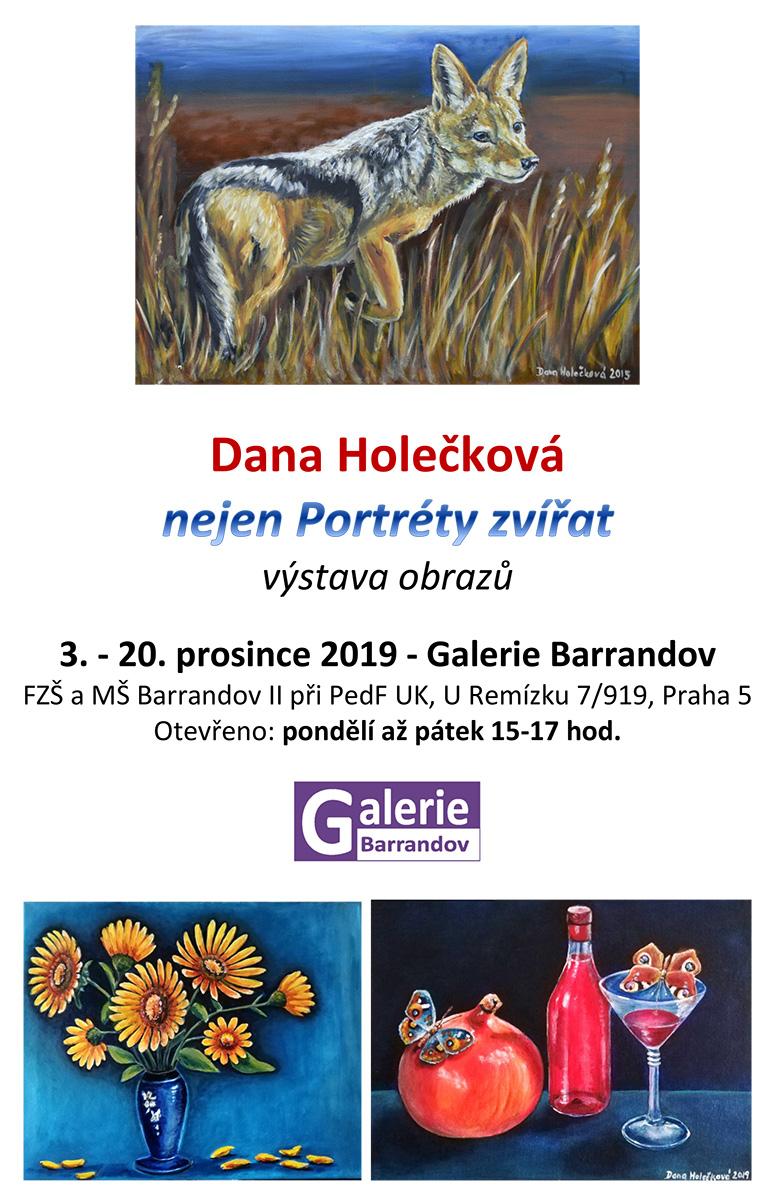Dana Holečková: Nejen portréty zvířat