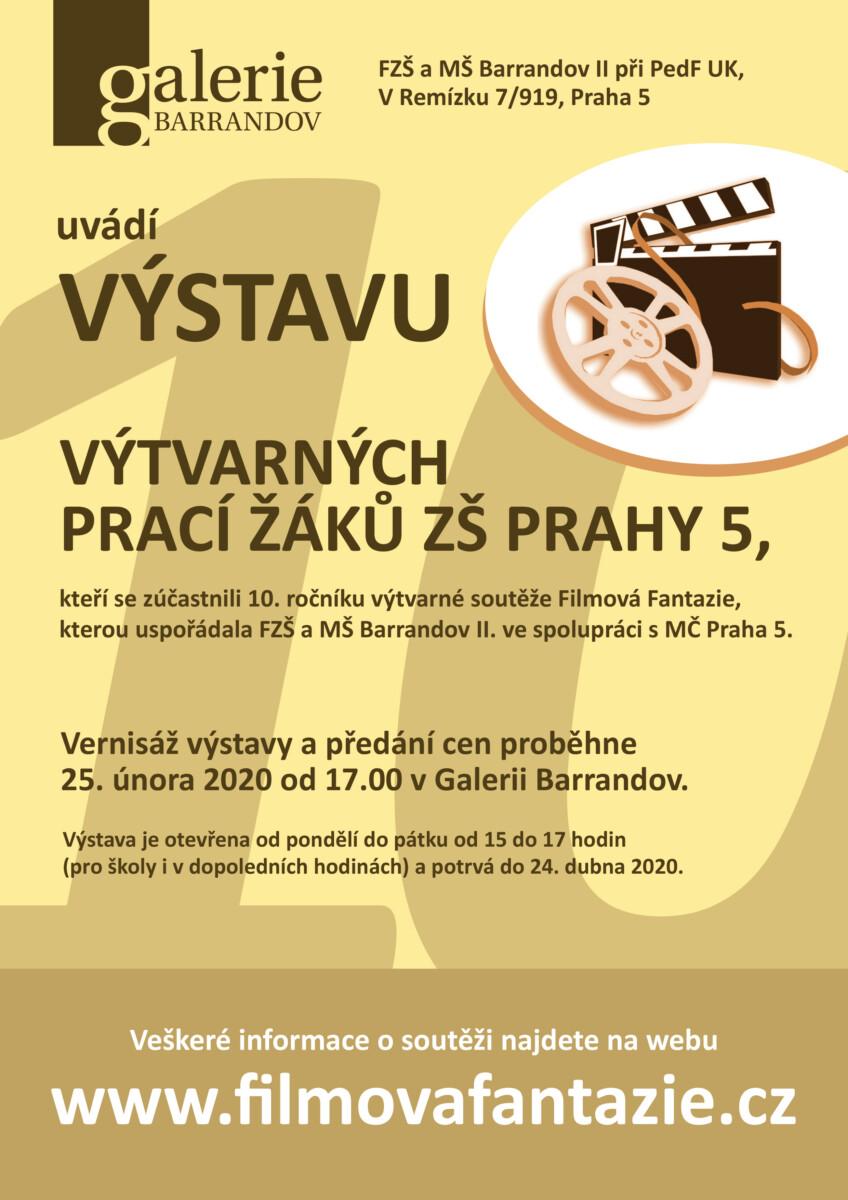 Filmová Fantazie : Výtvarné práce žáků ZŠ Prahy 5