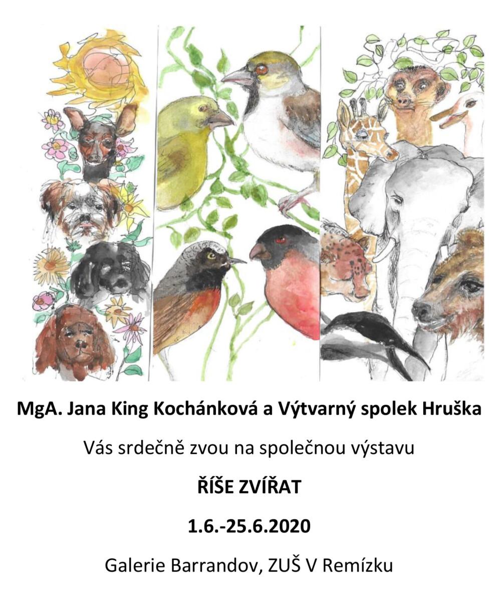 MgA. Jana King Kochánková avýtvarný spolek Hruška: Svět zvířat